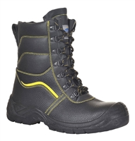 Portwest Steelite Fur Lined Protector Boot Black FW05