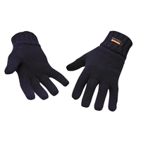 Portwest Knit Glove Insulatex Lined Black GL13