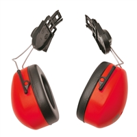 Portwest Clip On Ear Protector Red PW42