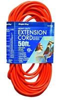 Bright-Way 50 ft Heavy-Duty Outdoor Extension Cord Grounded R2650