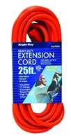 Bright-Way 25 ft Extra Heavy-Duty Outdoor Extension Cord Grounded R3025