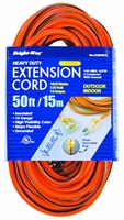 Bright-Way 50 ft Lighted End Indoor/Outdoor Extension Cord Grounded R3050CL