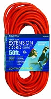 Bright-Way 50 ft Super Heavy-Duty Outdoor Extension Cord Grounded R3150