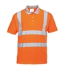 Portwest Hi-Vis Short Sleeved Polo Orange RT22