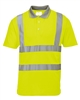 Portwest Hi-Vis Short Sleeved Polo Yellow S477