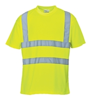 Portwest Hi-Vis T-Shirt Yellow S478