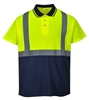 Portwest Two-Tone Polo Yellow/Navy S479