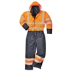 Portwest Hi-Vis Contrast Coverall Lined S485
