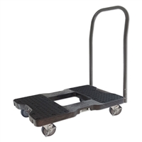 Snap-Loc Push Cart Dolly Black SL1500P4B