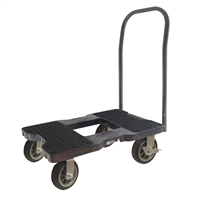 Snap-Loc All-Terrain Push Cart Dolly Black SL1500P6B