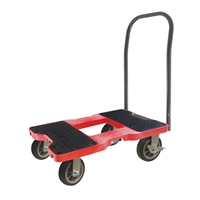 Snap-Loc All-Terrain Push Cart Dolly Red SL1500P6R