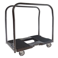Snap-Loc Panel Cart Dolly Black SL1500PC4B