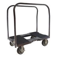 Snap-Loc All-Terrain Panel Cart Dolly Black SL1500PC6B