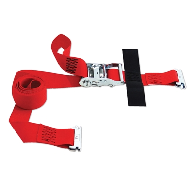 "Snap-Loc E-Strap 2""x8' Ratchet Red SLTE208RR"