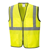 Portwest Tampa Mesh Vest Yellow US380