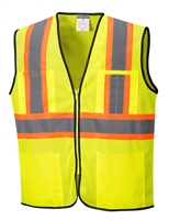 Portwest Frisco Contrast Vest Yellow US381Y